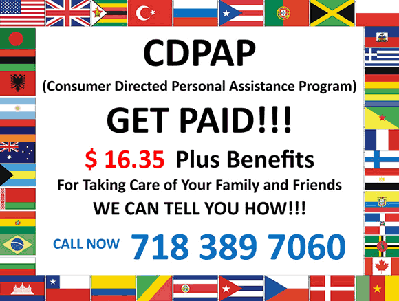 CDPAP Home Health Care in New York