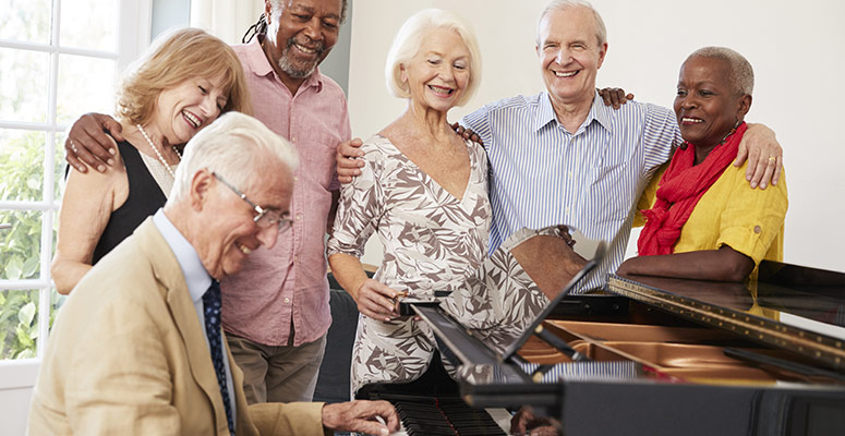 The Benefits of Music for Seniors with Dementia
